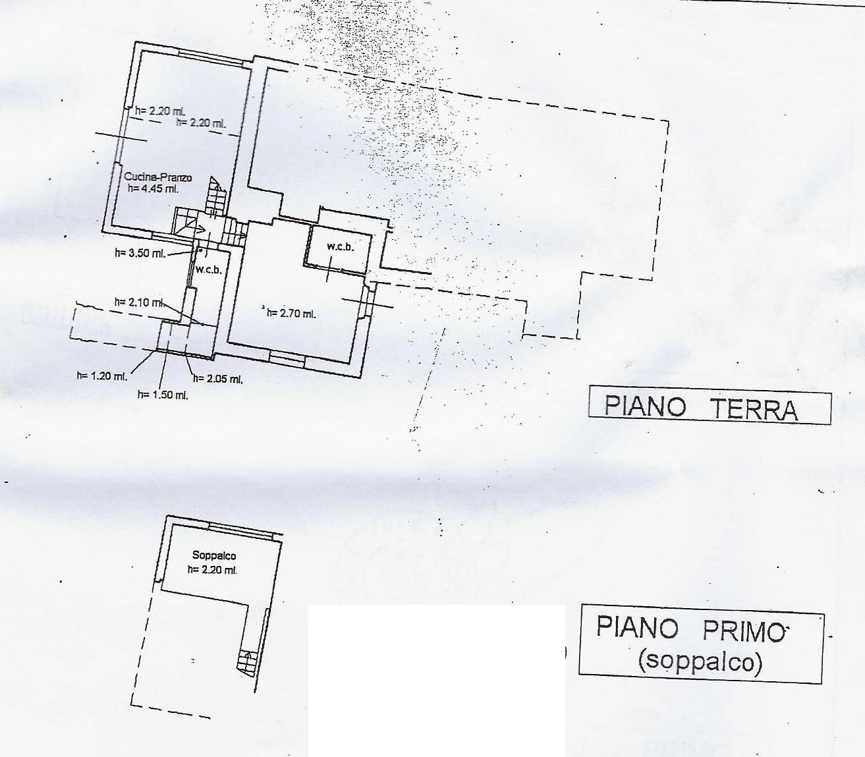 Casa singola in vendita, rif. 662quat (Planimetria 1/3)