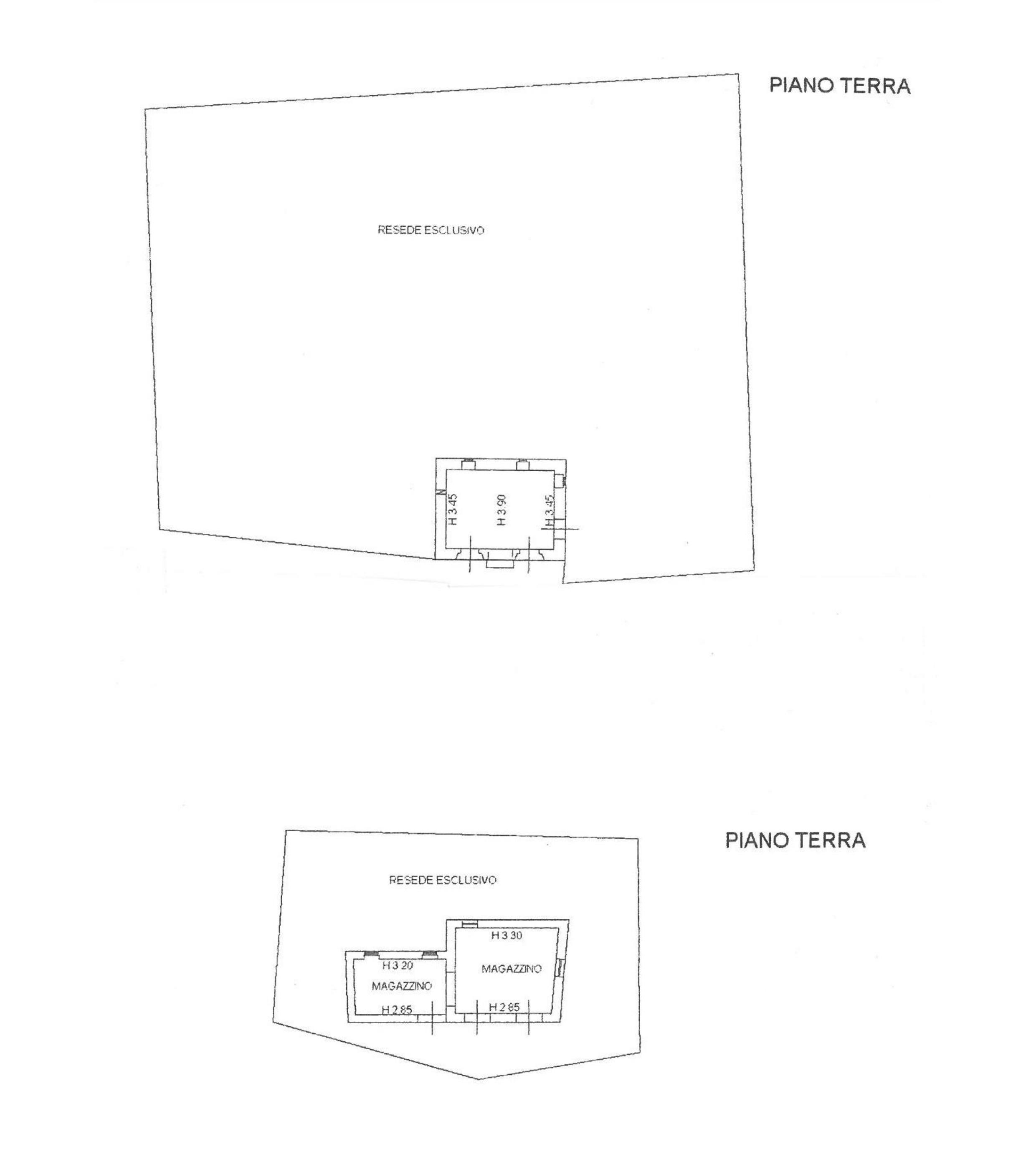 Fienile in vendita, rif. 663 (Planimetria 2/2)