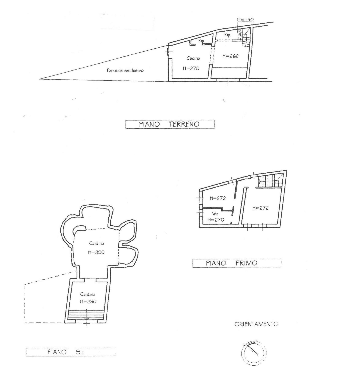 Fienile in vendita, rif. 663 (Planimetria 1/2)