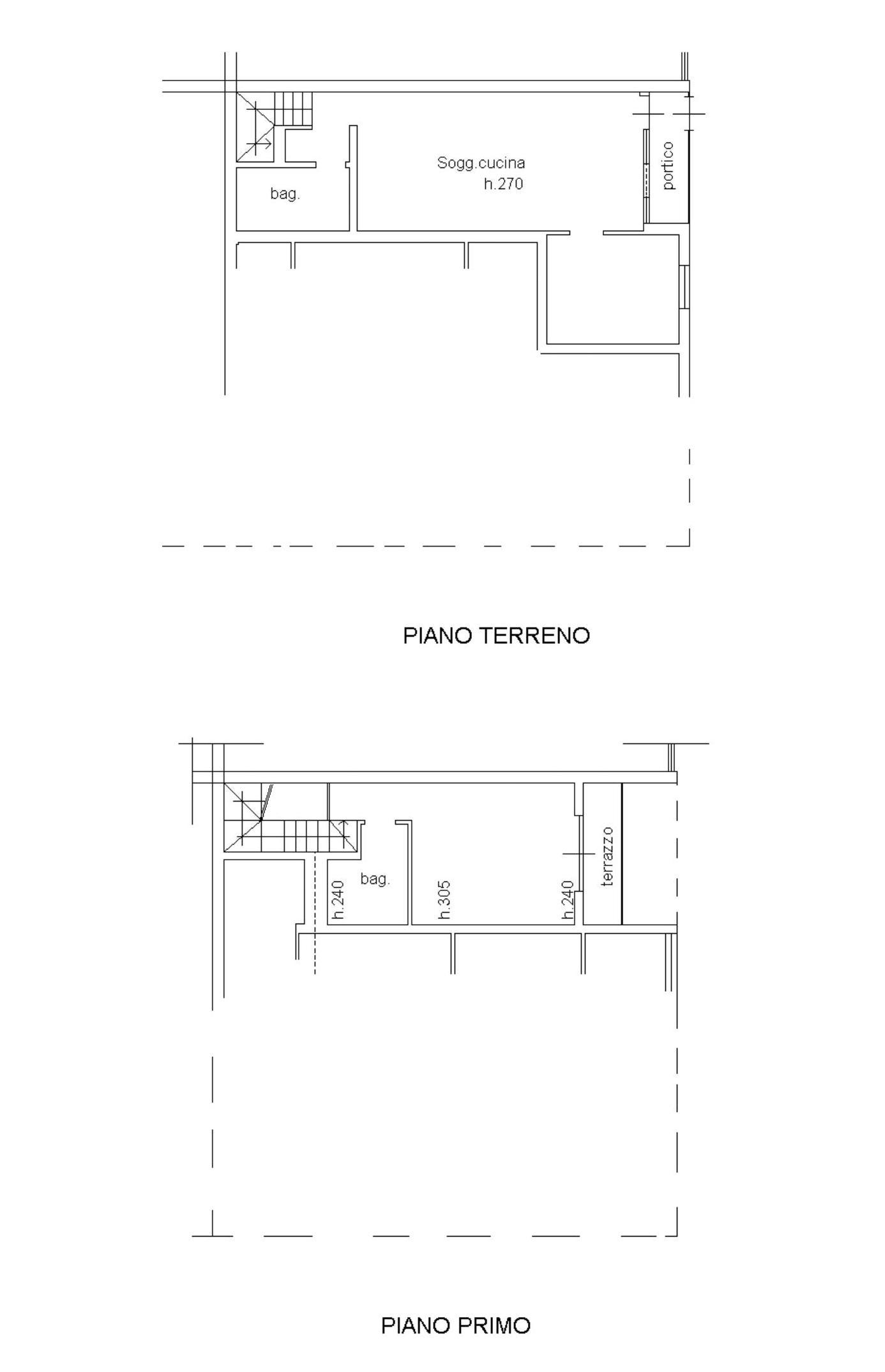 Appartamento in vendita, rif. 665 (Planimetria 1/1)