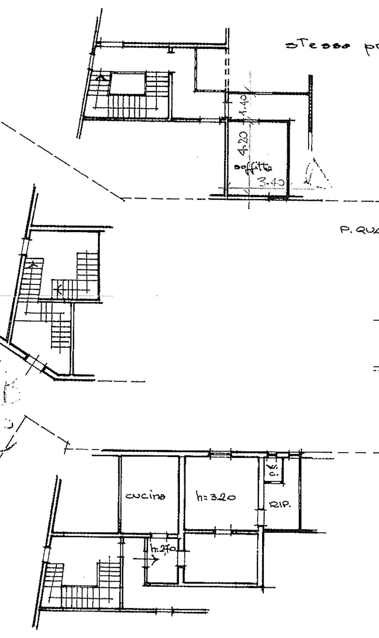 Appartamento in vendita, rif. 658 (Planimetria 1/1)
