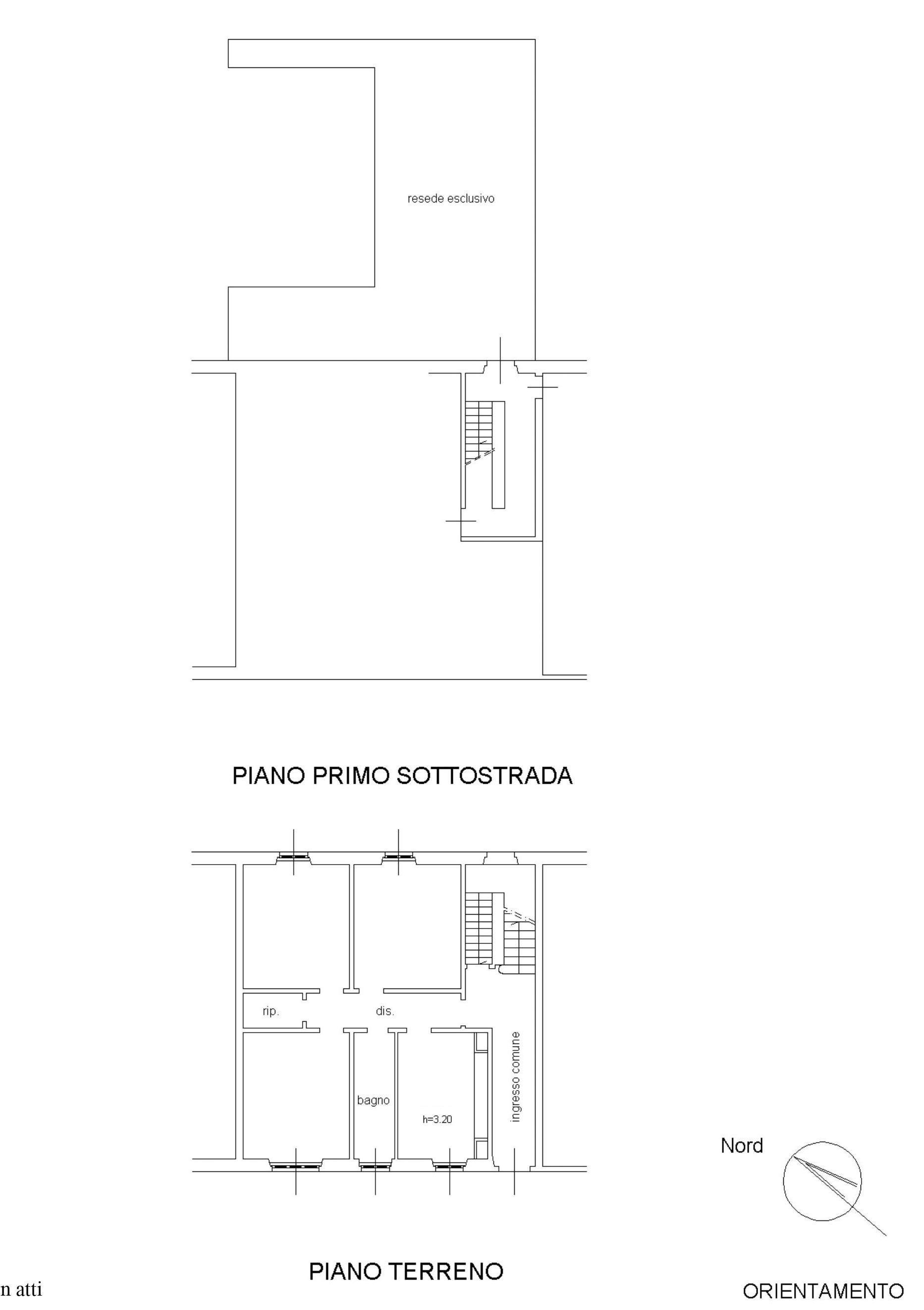 Ufficio in vendita, rif. 585bis (Planimetria 1/1)