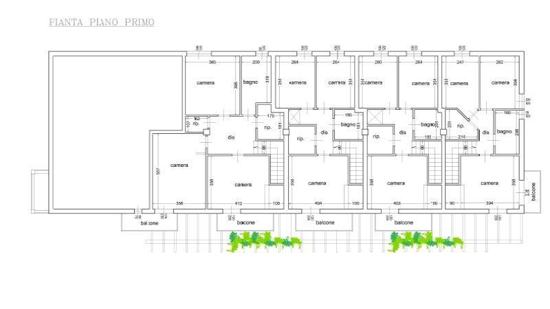 Terratetto in vendita, rif. 666 (Planimetria 2/3)