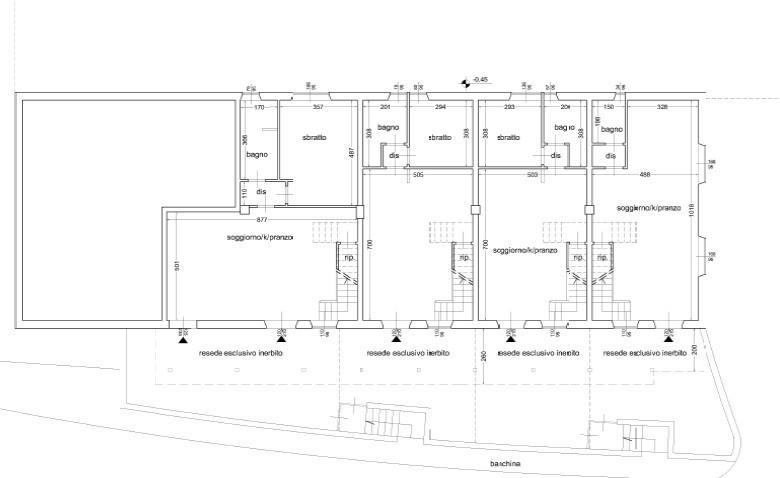 Terratetto in vendita, rif. 666 (Planimetria 3/3)