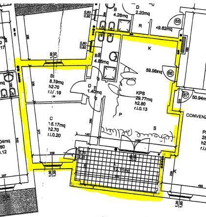 Appartamento in vendita, rif. 669 (Planimetria 1/1)