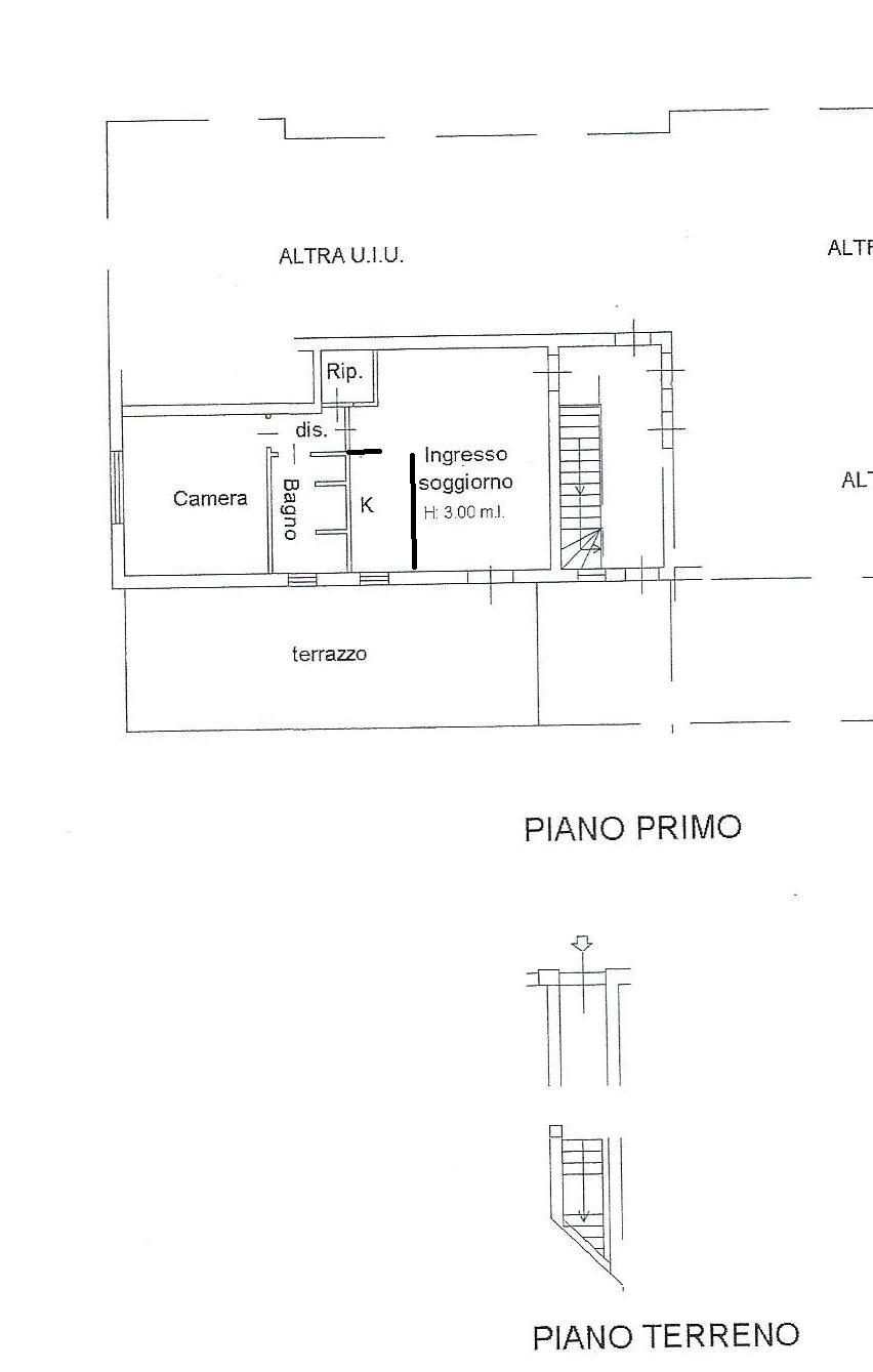 Appartamento in vendita, rif. 675 (Planimetria 1/1)