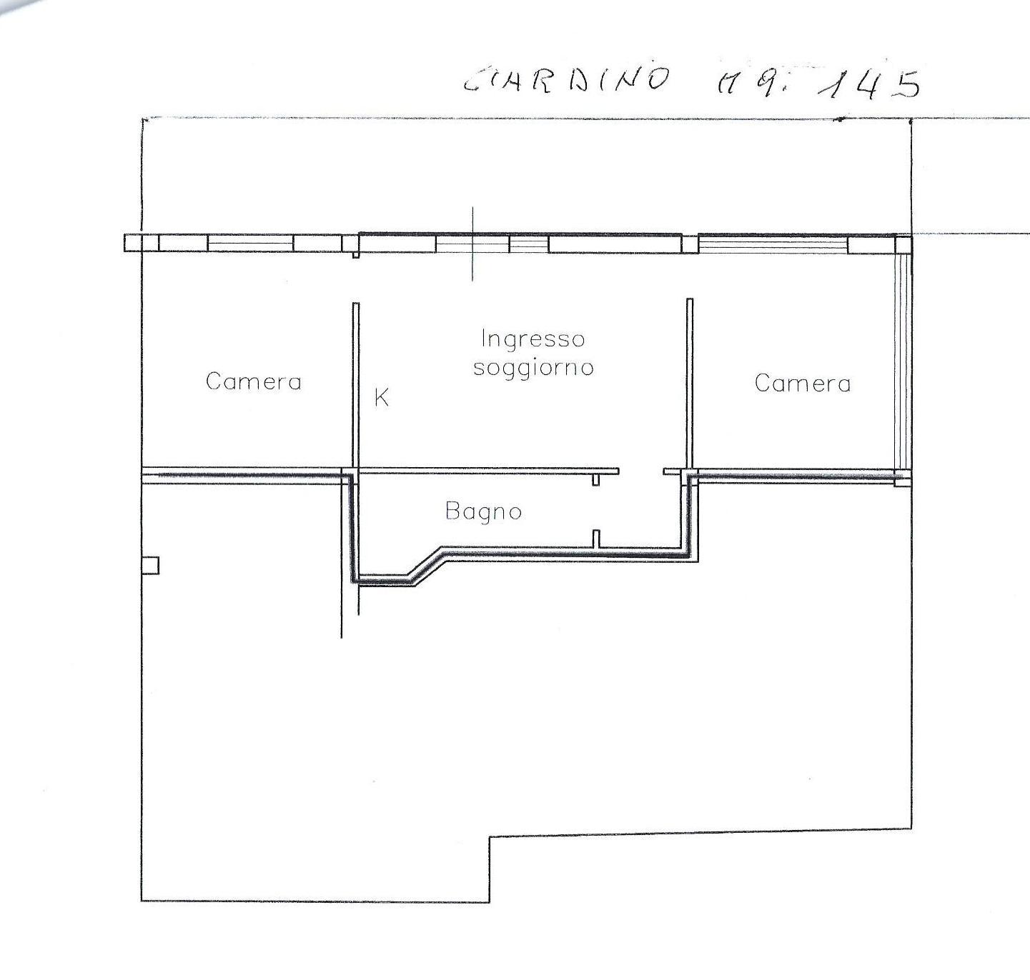 Appartamento in vendita, rif. 675five (Planimetria 1/1)
