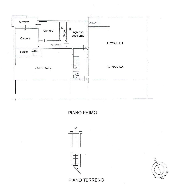 Appartamento in vendita, rif. 675bis (Planimetria 1/1)