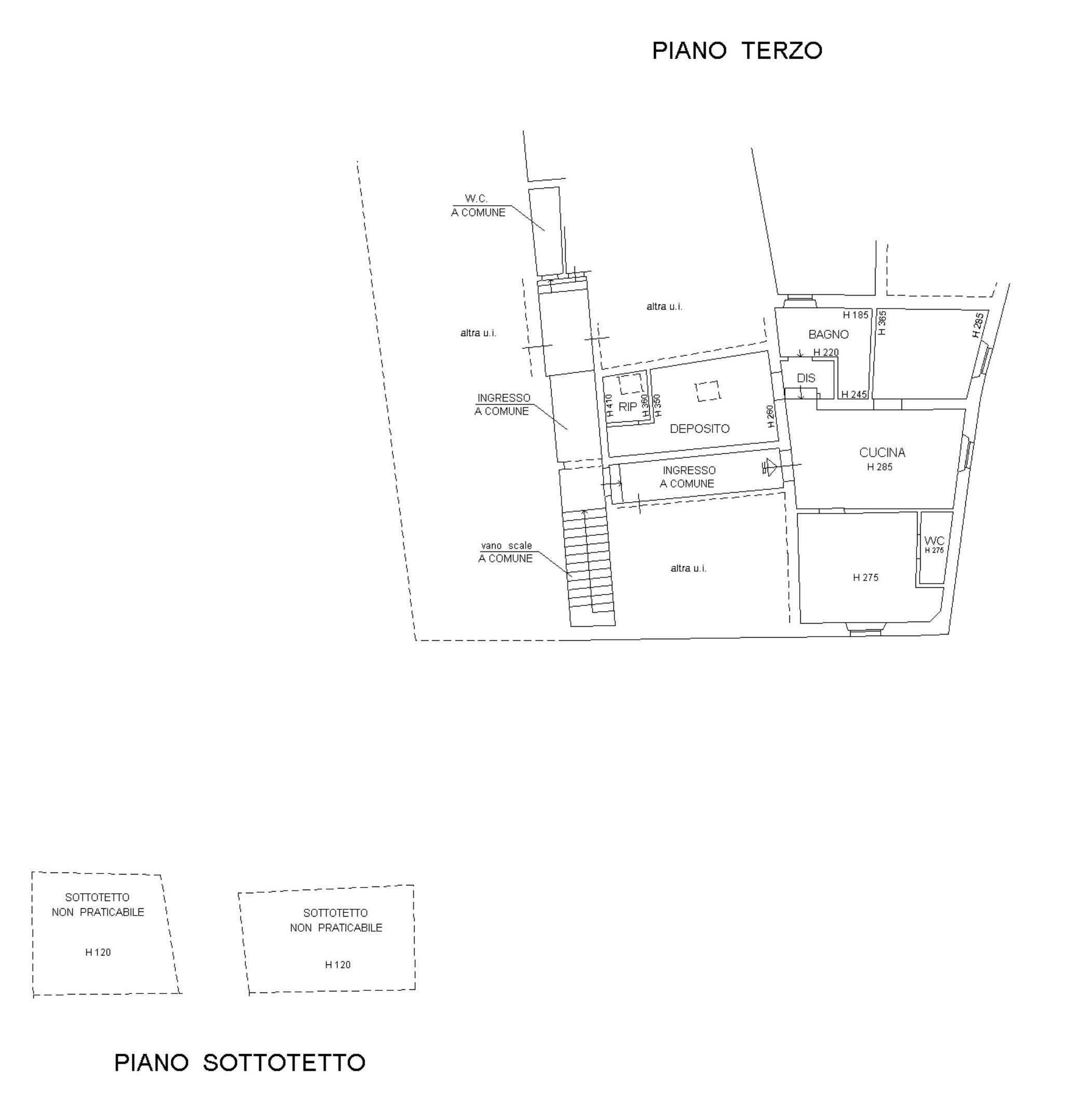 Appartamento in vendita, rif. 679 (Planimetria 1/1)