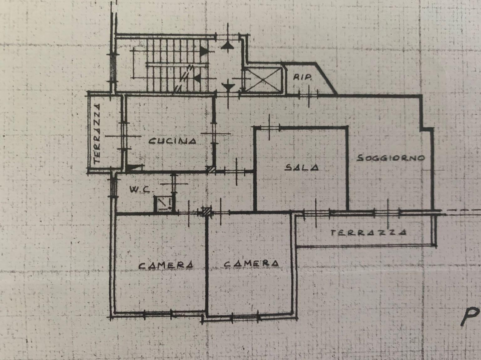 Appartamento in vendita, rif. 681 (Planimetria 1/1)