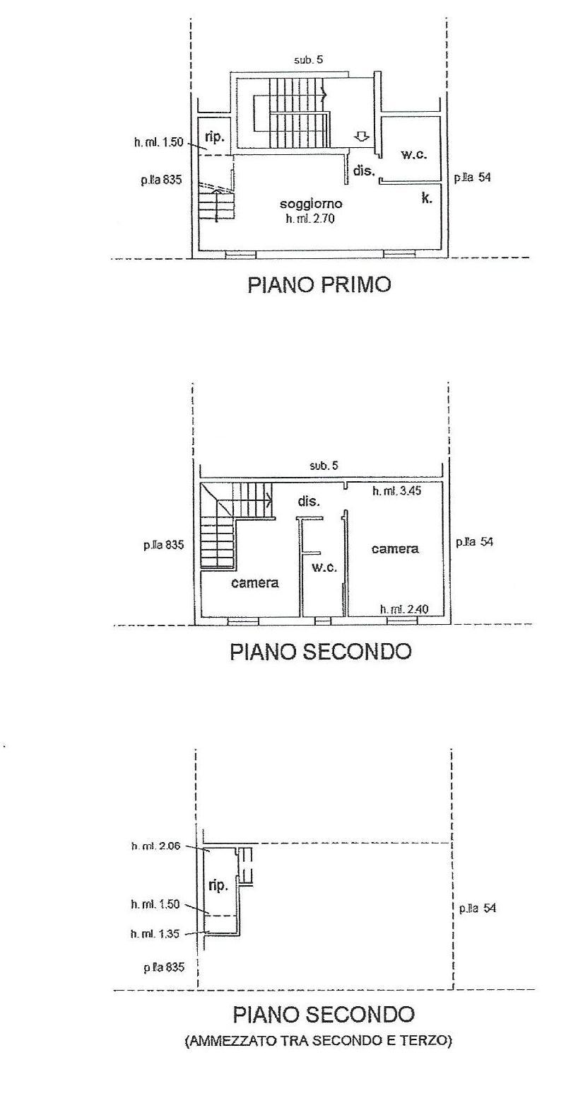 Appartamento in vendita, rif. 684 (Planimetria 1/1)