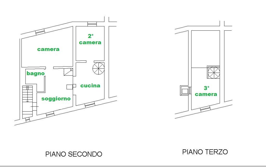 Appartamento in vendita, rif. 589 (Planimetria 1/1)