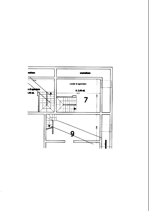 Planimetria 1/1 per rif. 610
