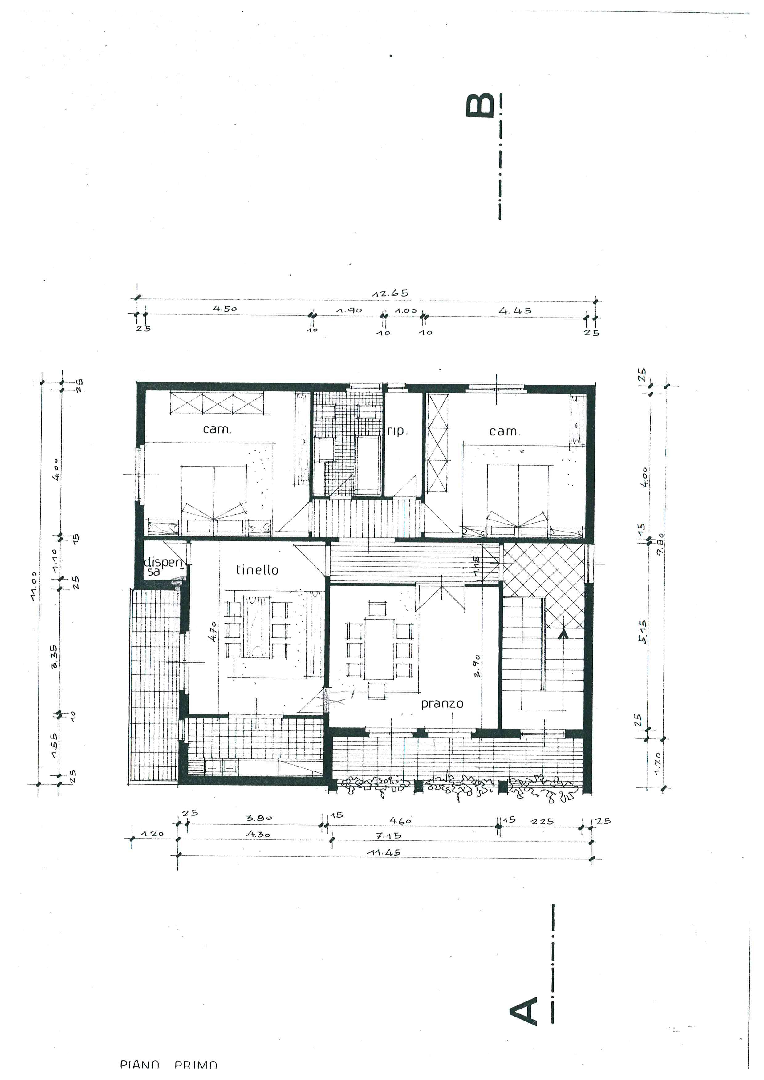 Planimetria 2/2 per rif. 803