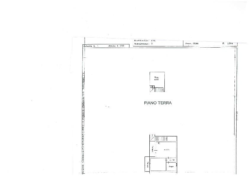 Planimetria 1/1 per rif. 956
