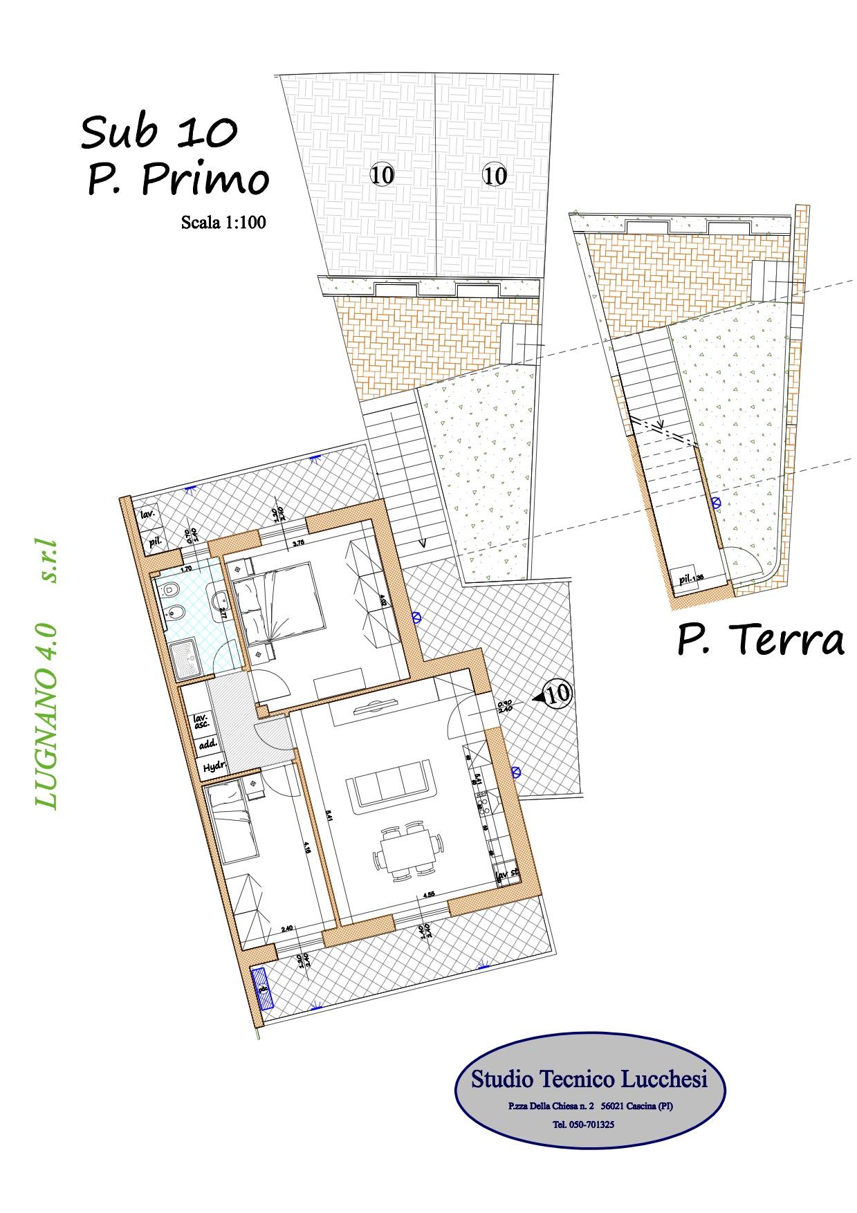 Planimetria 1/1 per rif. 1060