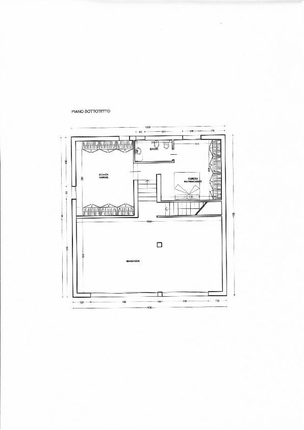 Planimetria 3/3 per rif. 1791