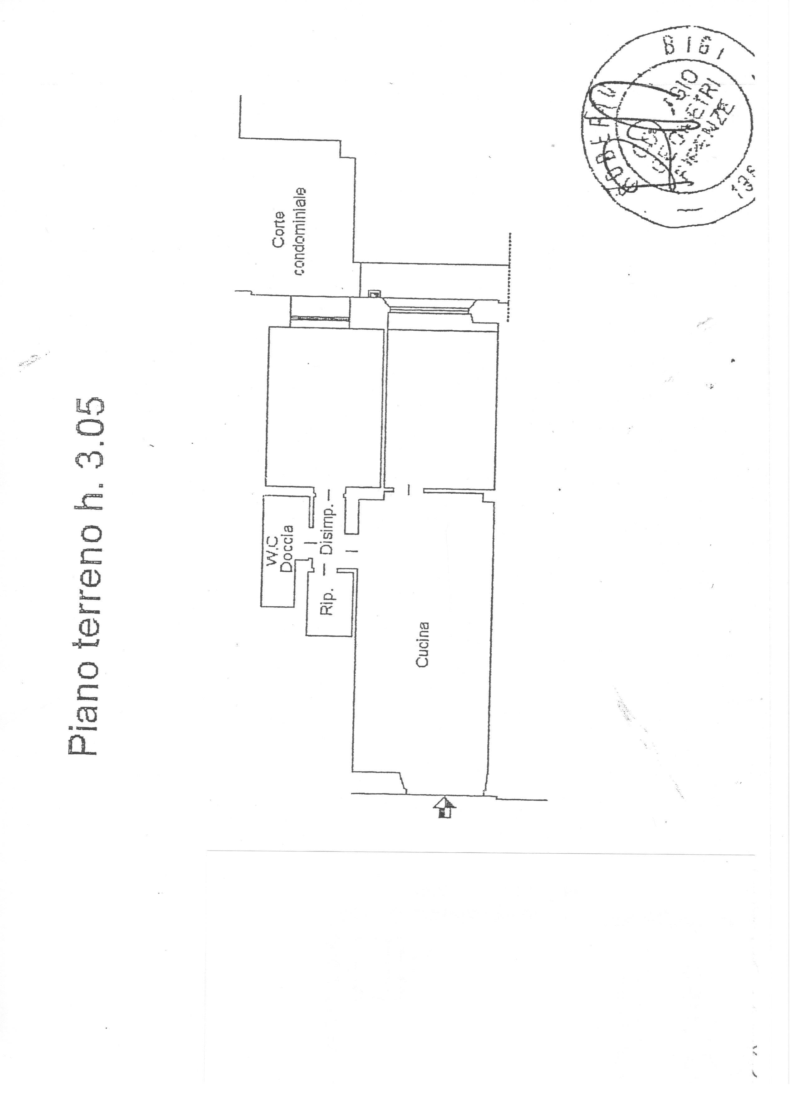 Planimetria 1/1 per rif. 1393