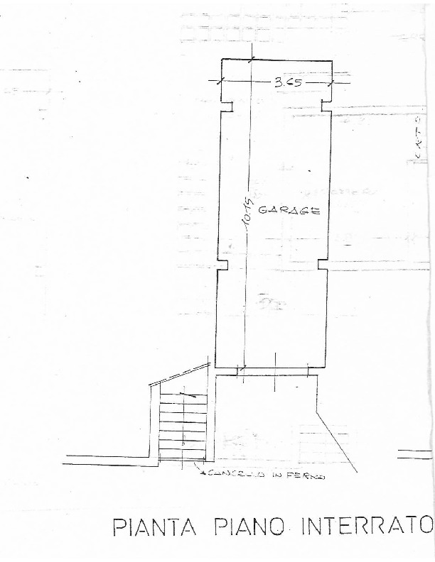 Planimetria 2/2 per rif. 1505
