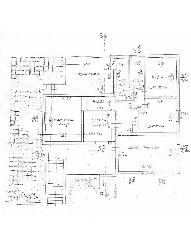 Planimetria 1/2 per rif. 1505
