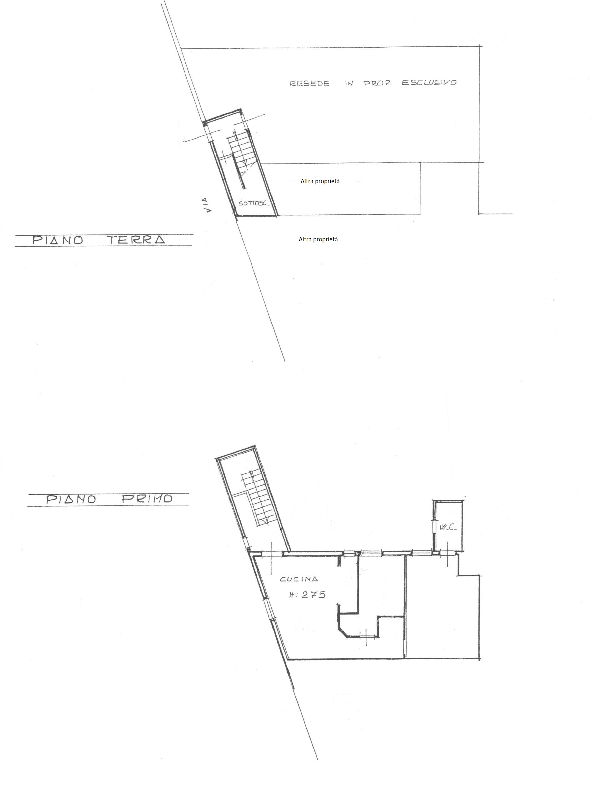 Planimetria 1/1 per rif. 1546