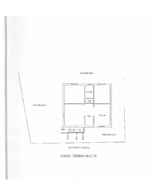 Planimetria 1/2 per rif. 1577