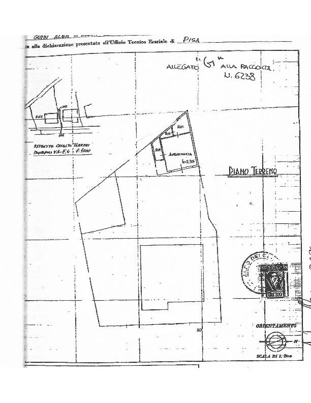 Planimetria 2/2 per rif. 1577