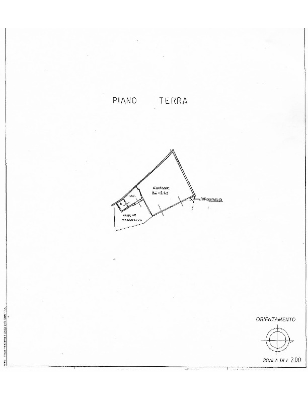 Planimetria 2/2 per rif. 1580