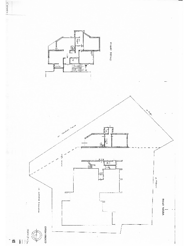 Planimetria 1/2 per rif. 1580