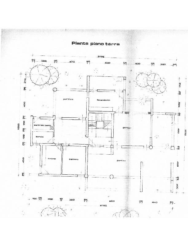 Planimetria 1/3 per rif. 1607