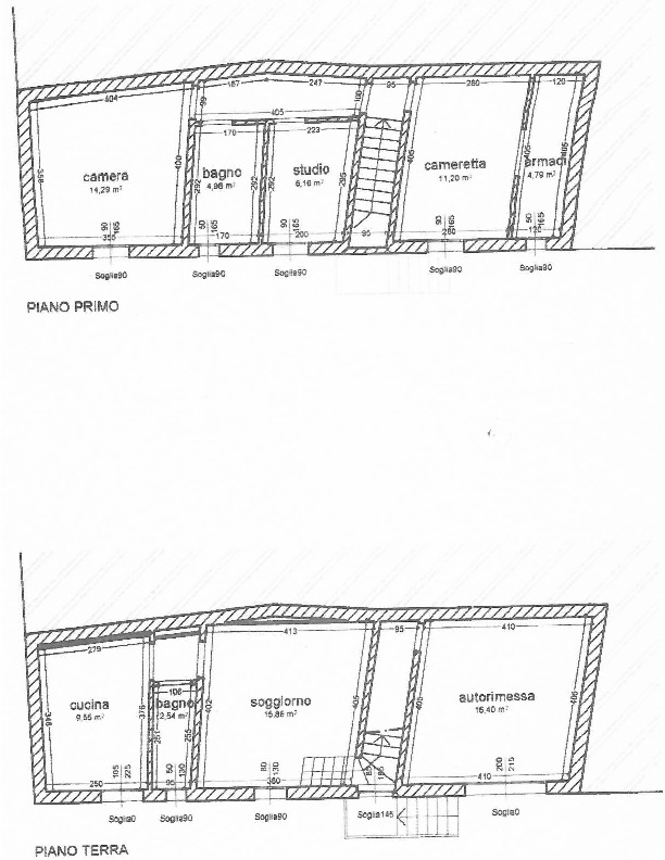 Planimetria 1/1 per rif. 1611