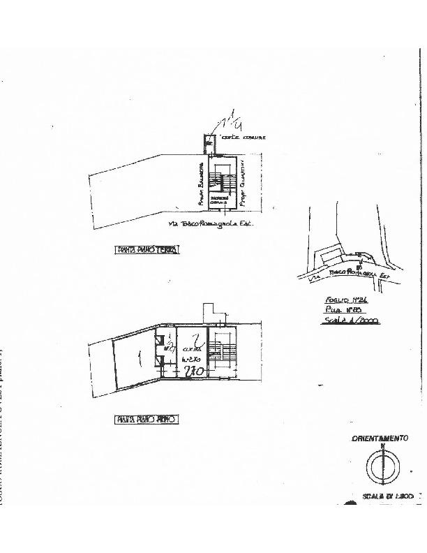 Planimetria 1/1 per rif. 1612