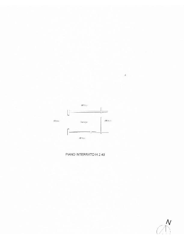 Planimetria 2/2 per rif. 1615