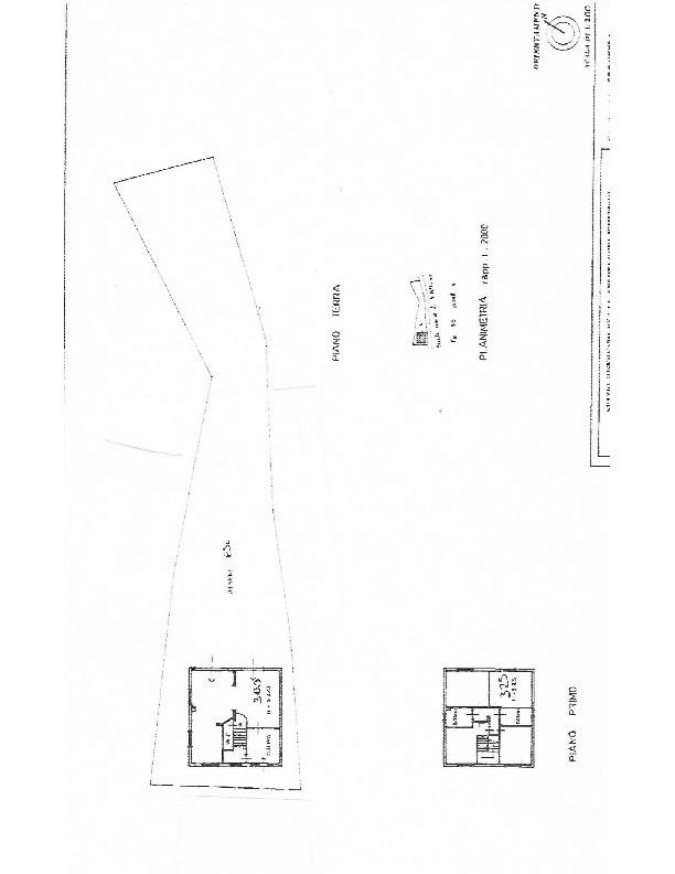 Planimetria 1/1 per rif. 1626