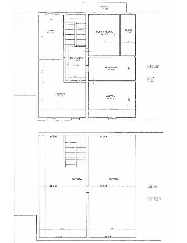 Planimetria 2/2 per rif. 1627