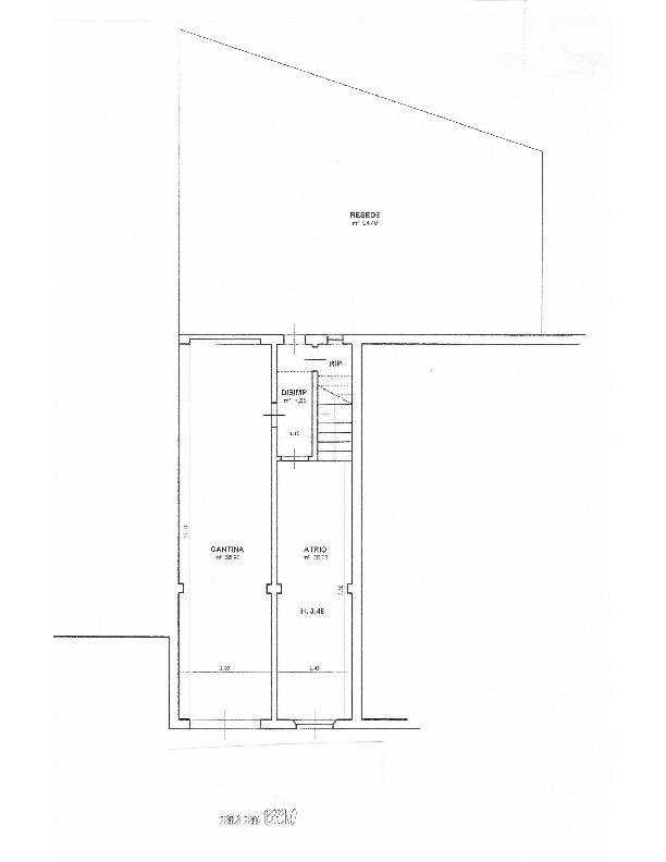 Planimetria 1/2 per rif. 1627