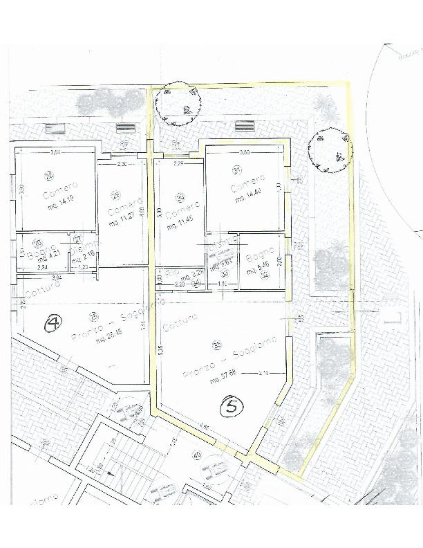 Planimetria 1/1 per rif. 1639