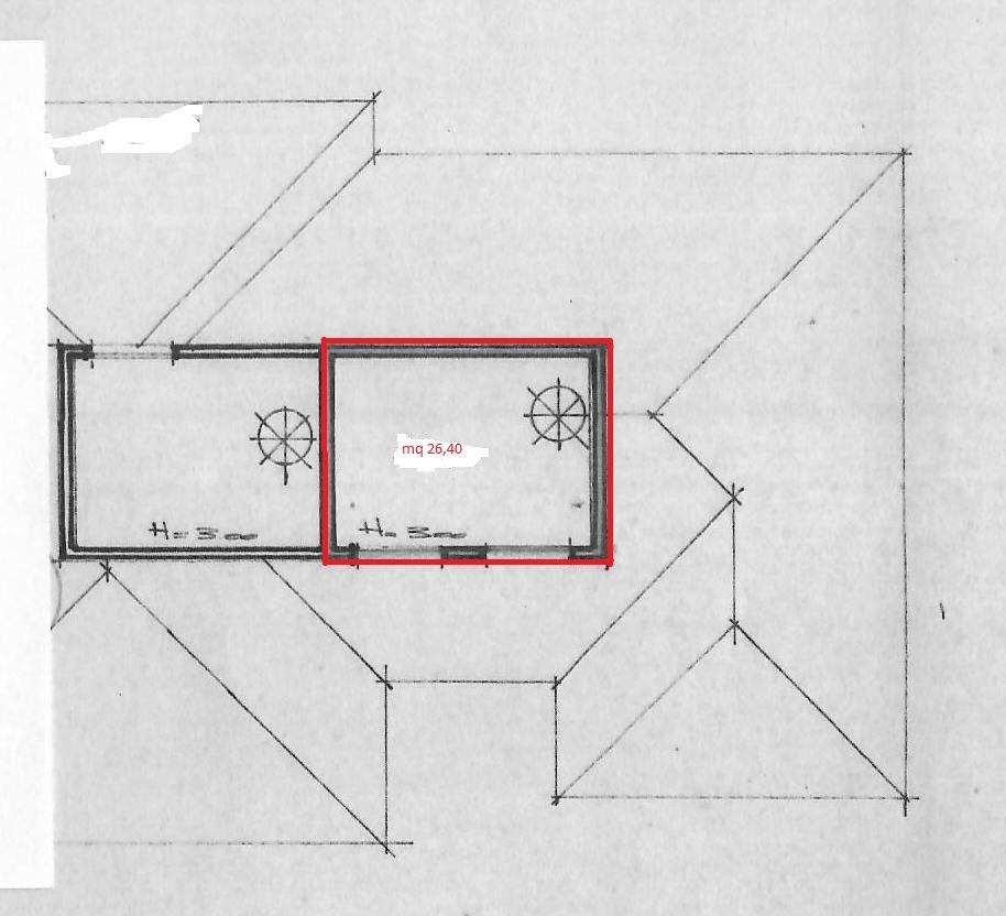 Planimetria 2/3 per rif. 1640