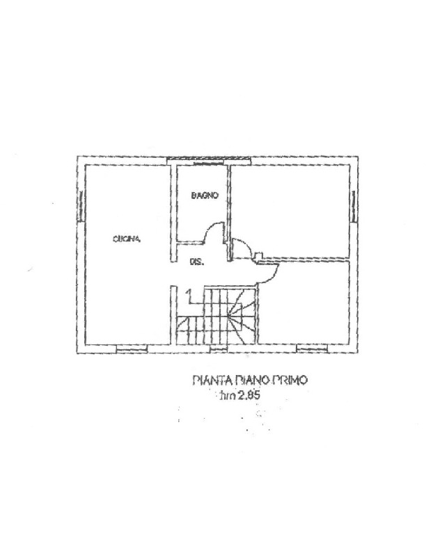 Planimetria 3/3 per rif. 1655