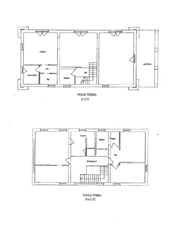 Planimetria 1/3 per rif. 1655