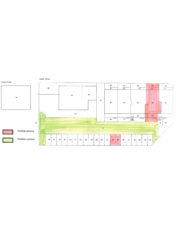 Planimetria 2/2 per rif. 1656