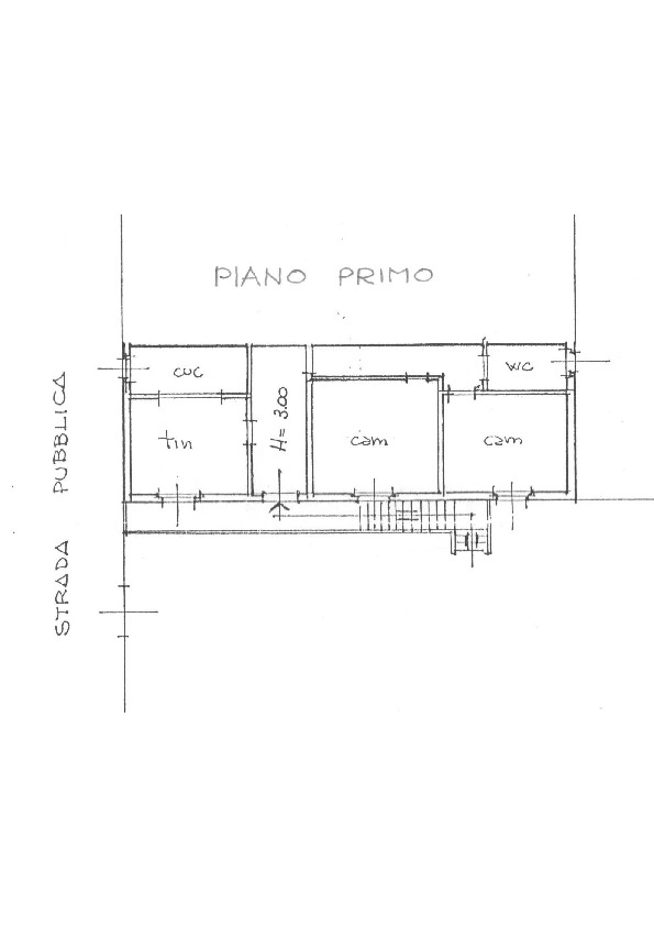 Planimetria 1/1 per rif. 1657