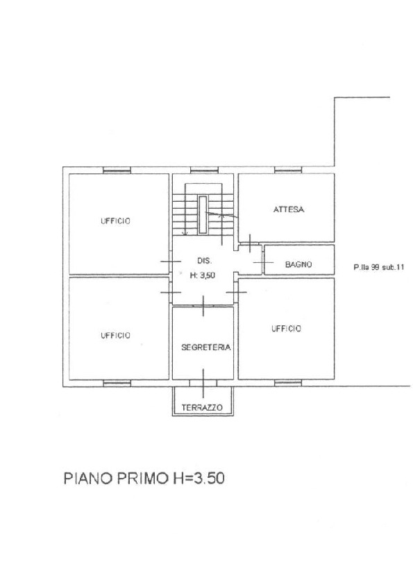 Planimetria 2/4 per rif. 1658