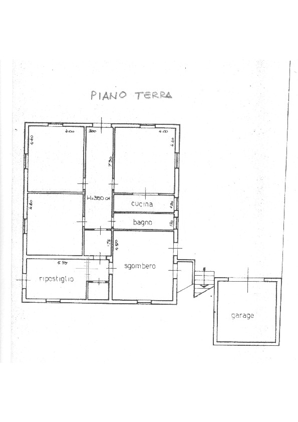 Planimetria 2/2 per rif.    1659