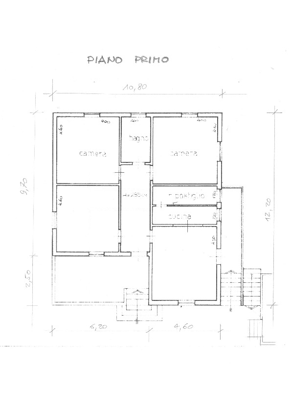 Planimetria 1/2 per rif.    1659