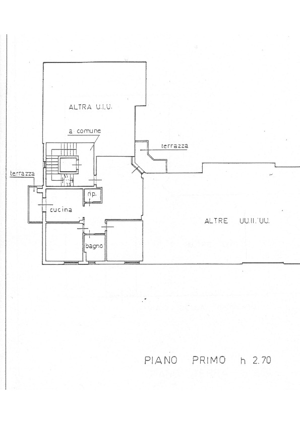 Planimetria 1/1 per rif. 1663