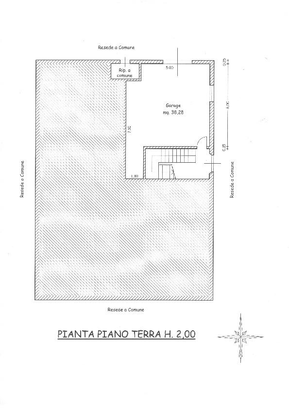 Planimetria 2/2 per rif. 1666