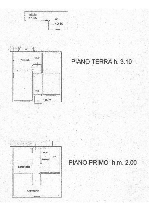 Planimetria 1/1 per rif. 1668