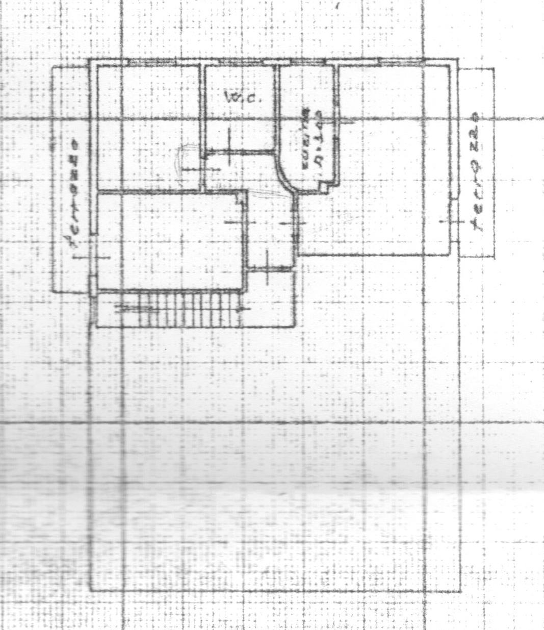 Planimetria 1/2 per rif. 1681