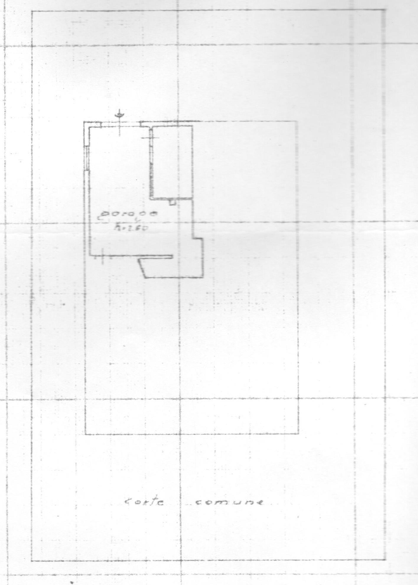 Planimetria 2/2 per rif. 1681